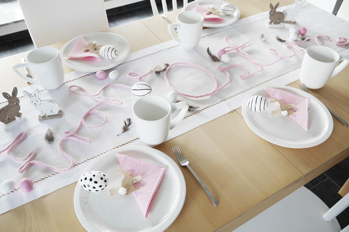 Tischdekoration zu Ostern_1